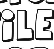'Bricks, Tiles, Slopes' Sticker