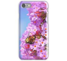Bumble on a Butterfly Bush iPhone Case/Skin