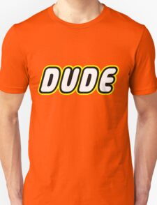 DUDE, Customize My Minifig T-Shirt