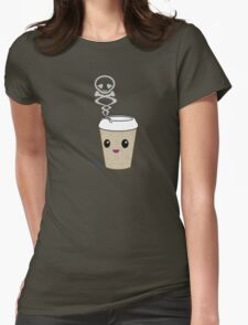 mikoto Mocha Womens Fitted T-Shirt