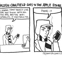 Holden Caulfield Goes To The Apple Store by reparrish
