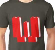 THE LETTER W, Customize My Minifig Unisex T-Shirt