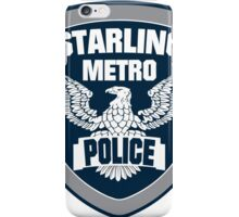 Starling City Metro Police Department iPhone Case/Skin
