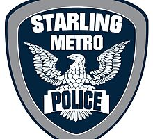 Starling City Metro Police Department by Numnizzle