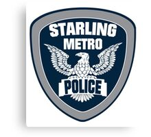 Starling City Metro Police Department Canvas Print