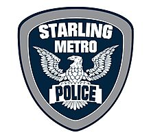Starling City Metro Police Department Photographic Print