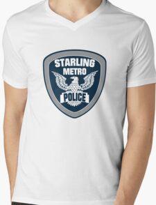 Starling City Metro Police Department Mens V-Neck T-Shirt