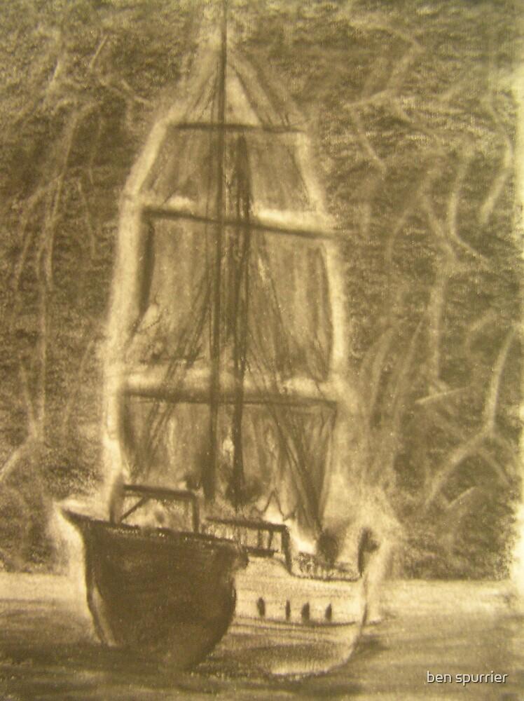 ghost ship by ben spurrier