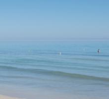 Tunisian sea Sticker