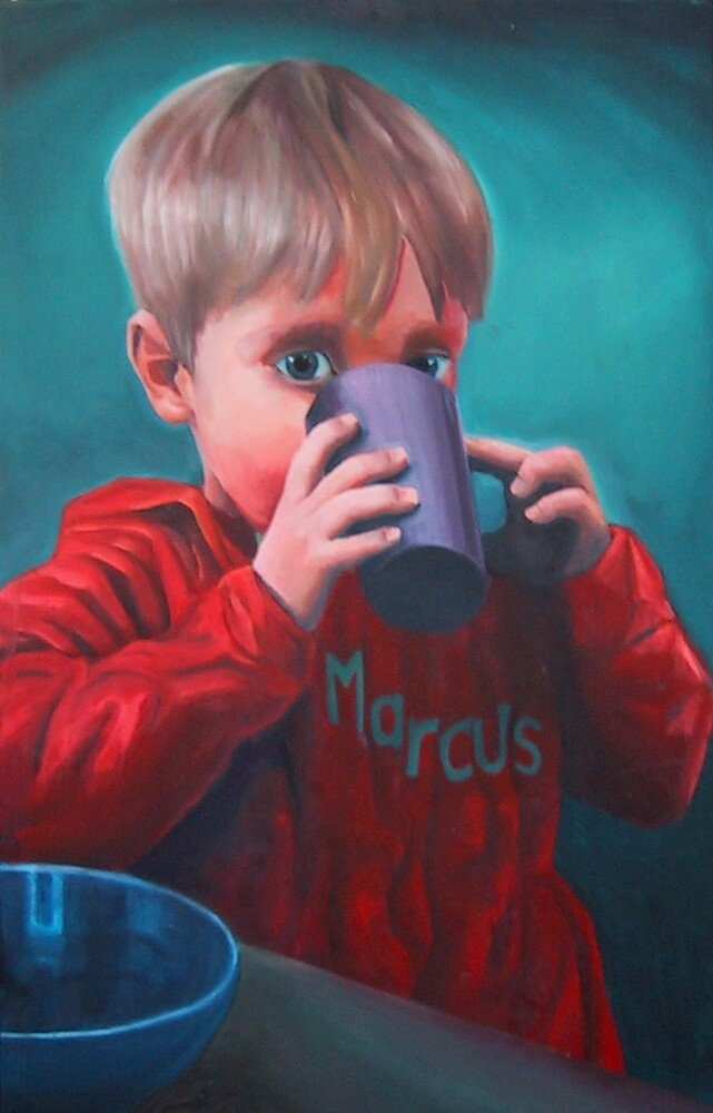 marcus... oils on canvas by pauldrobertson