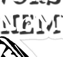 Minifig's Worst Enemy Sticker
