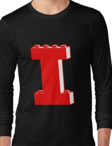 THE LETTER I, Customize My Minifig Long Sleeve T-Shirt