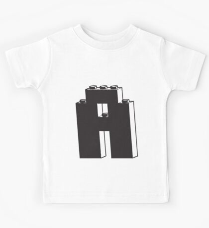 THE LETTER A Kids Tee