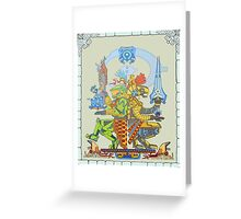 Mayan Chief Greeting Card