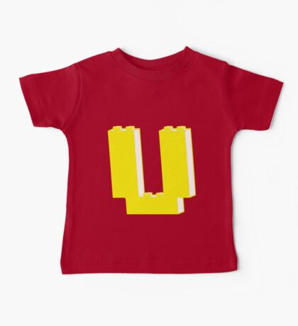 THE LETTER U, Customize My Minifig Baby Tee