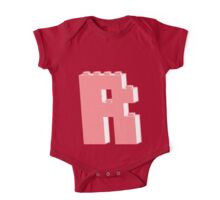 THE LETTER R, Customize My Minifig One Piece - Short Sleeve