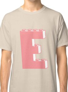 THE LETTER E, Customize My Minifig Classic T-Shirt