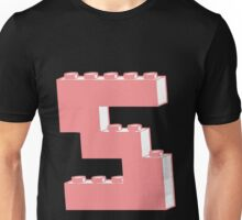 THE LETTER S, Customize My Minifig Unisex T-Shirt