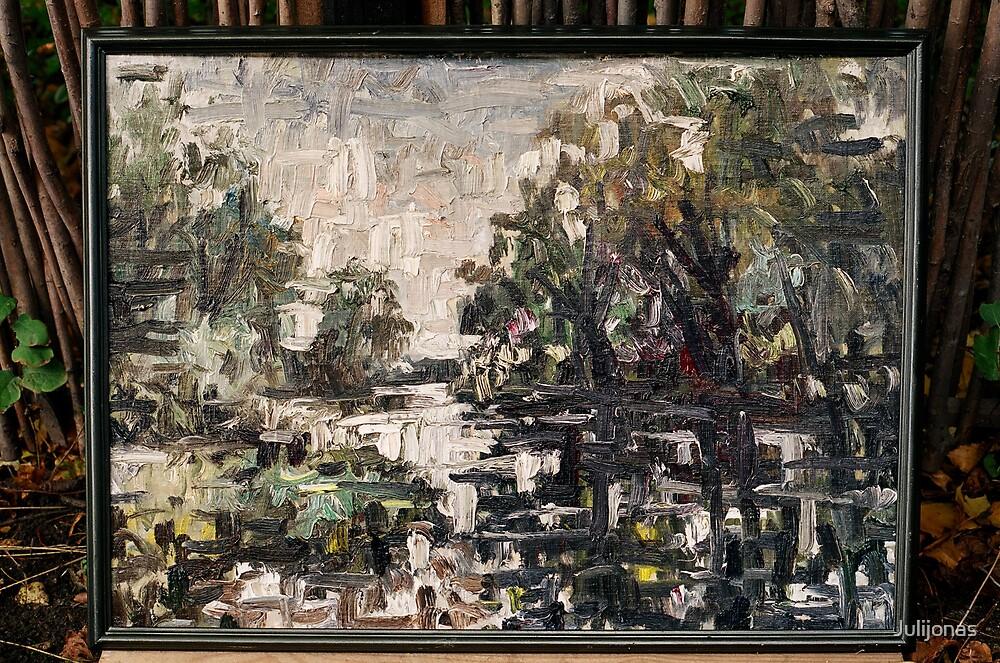 Vorusnes senvage (The Vorusne river ) by Julijonas