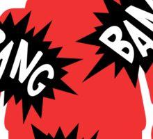 Minifig BANG BANG BANG, Customize My Minifig Sticker