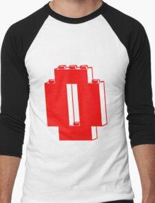 THE LETTER O, Customize My Minifig Men's Baseball ¾ T-Shirt