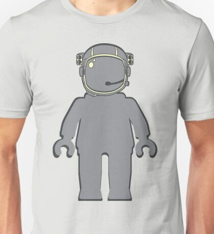 Banksy Style Astronaut Minifig Unisex T-Shirt