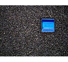 Blue Reflector Photographic Print