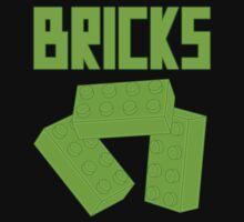 Green Bricks, Customize My Minifig Baby Tee