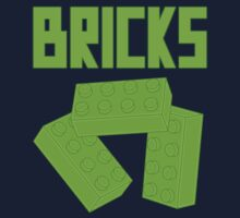 Green Bricks, Customize My Minifig Kids Tee