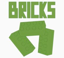 Green Bricks, Customize My Minifig Baby Tee