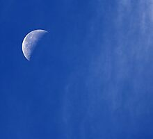 Morning Moon by grandaded