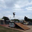 On the wings of a BMX.... by John Gilluley