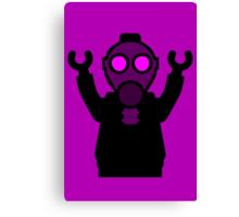 Apocalyse Minifigure wearing Gasmask Canvas Print