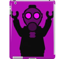 Apocalyse Minifigure wearing Gasmask iPad Case/Skin