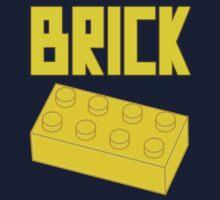 Yellow Brick, Customize My Minifig Kids Tee