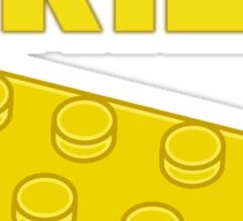 Yellow Brick, Customize My Minifig Sticker