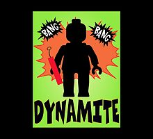 Dynamite Minifigure, Customize My Minifig by ChilleeW