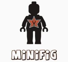 Minifig [Black], Customize My Minifig Star Logo by Customize My Minifig