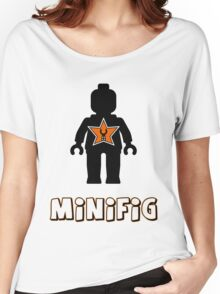 Minifig [Black], Customize My Minifig Star Logo Women's Relaxed Fit T-Shirt