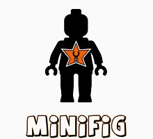 Minifig [Black], Customize My Minifig Star Logo Womens Fitted T-Shirt