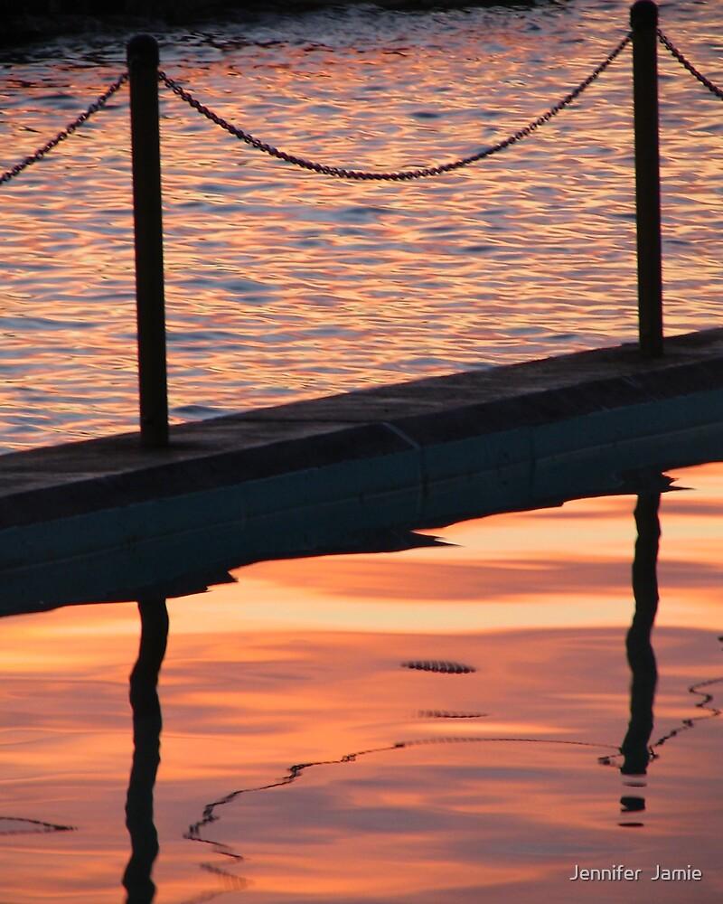 Clovelly Reflections by Jennifer  Jamie