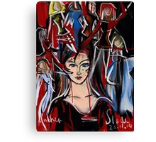 1 in 4 Women in the Workplace in Victoria are Bullied! Canvas Print