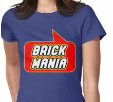 Brick Mania, Bubble-Tees.com Womens Fitted T-Shirt