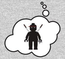 Minifig Ninja, Bubble-Tees.com One Piece - Short Sleeve