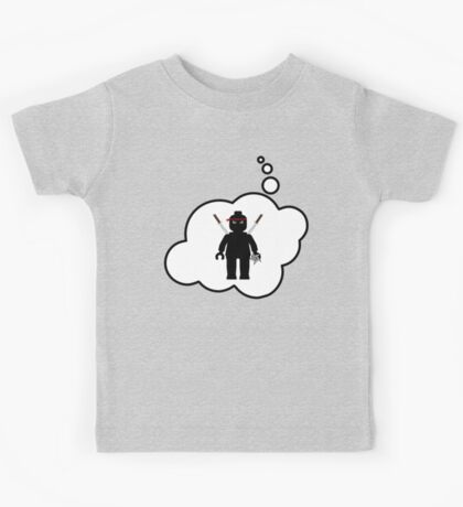 Minifig Ninja, Bubble-Tees.com Kids Tee