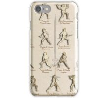 "Armored Positions - Fiore dei Liberi ""Getty"" iPhone Case/Skin"