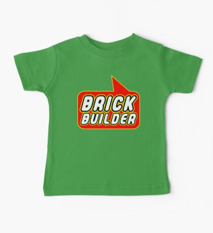 Brick Builder, Bubble-Tees.com Baby Tee
