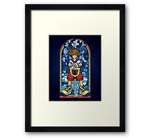 Light in the Deepest Darkness Framed Print