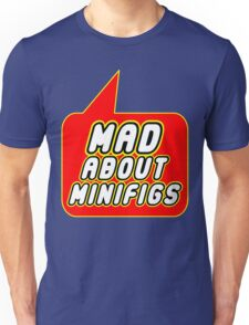 Mad About Minifigs, Bubble-Tees.com Unisex T-Shirt