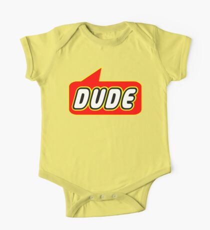 Dude, Bubble-Tees.com One Piece - Short Sleeve